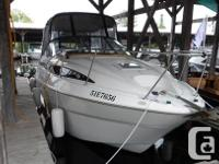 This is a very clean boat. It is being sold with the
