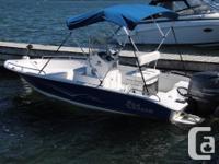 2012 Caroline Skiff 175 Sea Chaser centre console