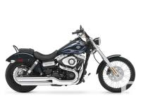 2013 Harley-Davidson Wide Glide 103 Low-down and beefy,