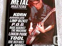 2004 - THE NEW METAL MASTERS - WITH INSTRUCTIONAL CD -