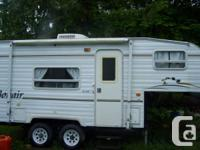 2002 19' bonair 5th wheel $6500 obo hydraulic
