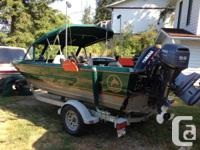 Perfect angling boat. Bonded aluminum, Boat pay for