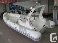 Brand new factory ordered RIB 580 German PVC or French