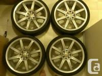 19 inch ADR rims all center caps included. Two