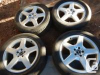 19 inch Mercedes-Benz R-Class AMG Alloy Rims. NOTE: