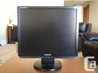 "I have 3 different 19"" 4:3 LCD Monitors for Sale, I am"