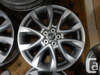 "19"" Mazda CX-5 stock Alloy rims . NO TPMS installed."