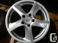 "Brand: 19"" Porsche Techno 5 spoke Rims. With TPMS upto"