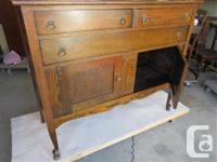 """THIS BUFFET IS 48"""" WIDE, 19"""" DEEP AND 49 1/2"""" HIGH TO"""