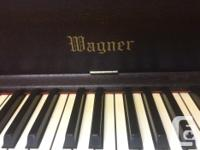 Purchased in Vancouver, this piano has been in our