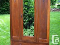 1920's English Wardrobe. Practical and stunning at the