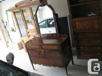 Remarkable disorder for this attractive antique Dresser