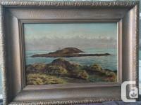 Margarett Hallett 1924 Oil on Canvas One of Margarett's