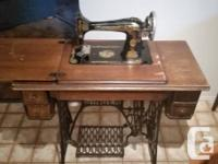 1924's Singer Sewing Equipment. Working, has all