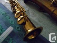 1925 Buescher True Tone Soprano Saxophone serial number