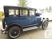 Make Chevrolet Year 1926 Colour Blue and black Trans
