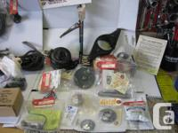 A selection of Model A parts, some new, some NOS some