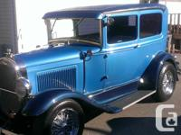 Make Ford Year 1928 Colour Blue kms 5193 Hot Rod Buick