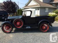 Make Ford Year 1929 Colour Black Trans Manual kms, used for sale  British Columbia