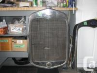 1930-31 Ford Model A Radiator, does not leak $225, also