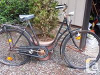 1930's ADLER restorable vintage ladies bicycle for, used for sale  British Columbia
