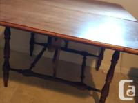 Fantastic and versatile dining table. Refinished a
