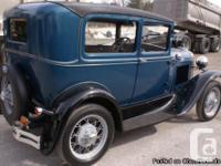 Mileage: 7,200 miles 1931 Model A, 2