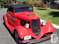 Personalized 33 ford, supercharged 351 Cleveland a lot