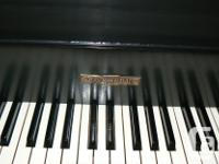 BEAUTIFULLY RESTORED 1937 KRANICH & BACK BABY GRAND