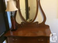 1940's maple dresser for sale $ 115.00 in good