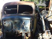 Make Ford Year 1940 1940 Ford truck cab, doors, hood