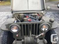 Make Willys-Overland Model Jeep Year 1946 Colour Green