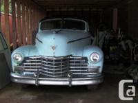 this is a 1947 6 door cadillac limo it came from the