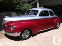 * 1947 Nash 5 window Coupe BBC Hot Rod * * very rare