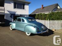 Make Plymouth Year 1947 Colour blue kms 7000 This 1947