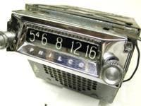 Classic Philco auto am radio, I believe is under