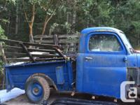 1948 dodge 1/2 ton pick up ready to let go of Thought