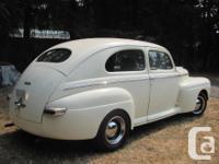 Make Mercury Model Antser Year 1948 Colour vanilla kms