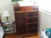 1949 Walnut Bedroom Set. 4 pcs. Excellent, almost mint