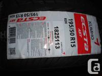 195/50R15 82H Kumho Tires(Pair) - $270  Brand new,