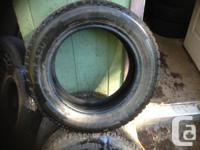 205/60/15  Snow Tires   a pair @ 60%