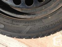 lots of driving left on these tires, used 1 season -