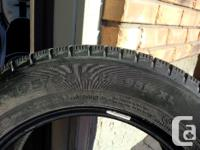 I have a set of 4 Nokian Hakkapeliitta Winter Tires for