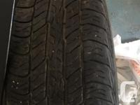 Dunlop Signature 2 M&S tires for sale- used for 4