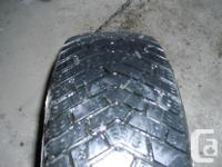 195/65 R15 GOODYEAR WINTER TIRES AND RIMS, FIT 2006 AND