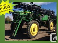 4730 2011 John Deere 4730, Self-Propelled Sprayers,