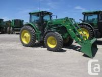 6170R 2013 John Deere 6170R, Row Crop Tractors, AQ PLUS