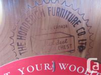 """THIS HOPECHEST IS 41 1/2"""" WIDE, 19"""" DEEP & 23 1/2"""""""