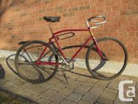 1950 CCM Single Speed Racer   Was a conversion done