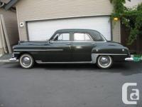 Make Chrysler Model Windsor Year 1950 Trans Manual kms
